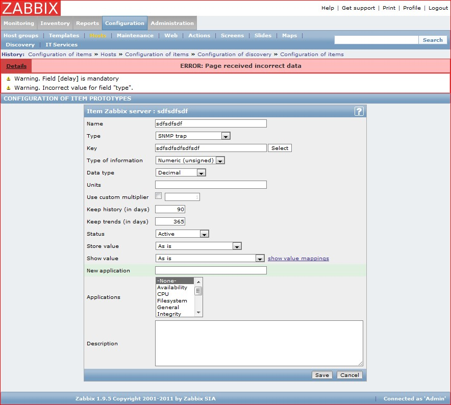 ZBXNEXT-747] More efficient SNMP trapping - ZABBIX SUPPORT