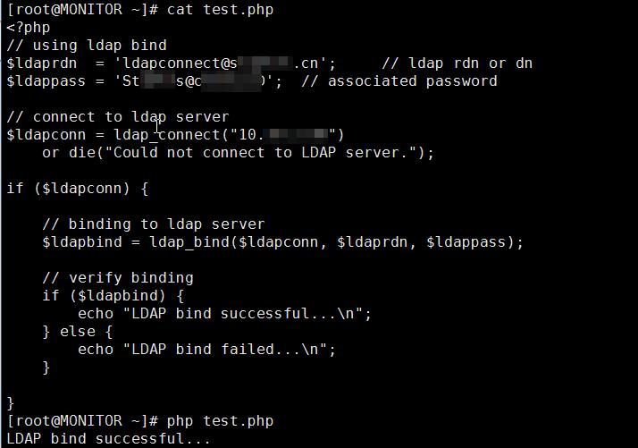 ZBXNEXT-4519] Cannot bind ldap server: authentication failed