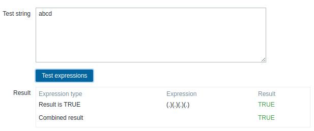 ZBX-15899] Inconsistent behavior of regex for UTF-8 input - ZABBIX
